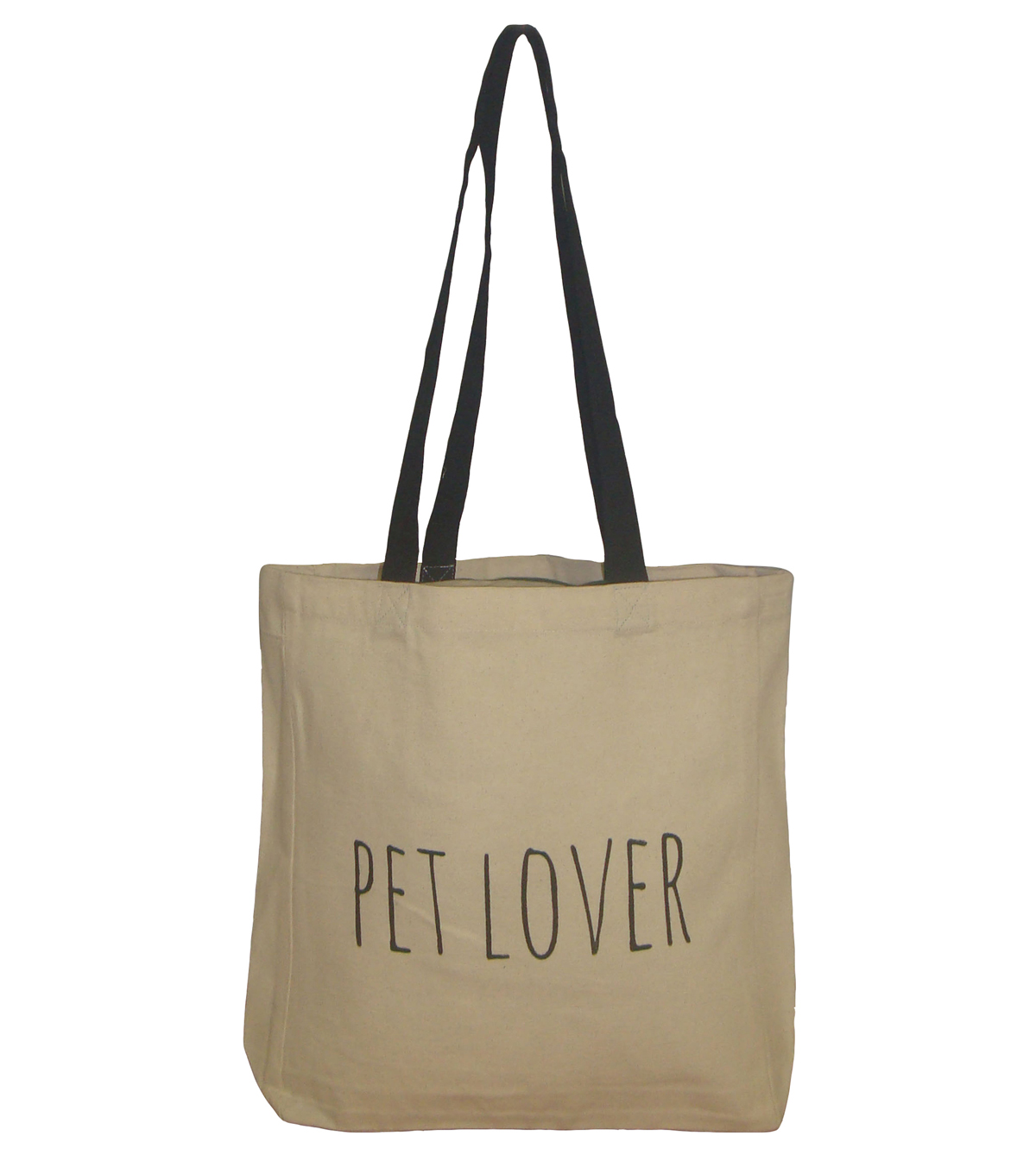 Canvas Tote 16.5\u0027\u0027x14.9\u0027\u0027-Pet Lover