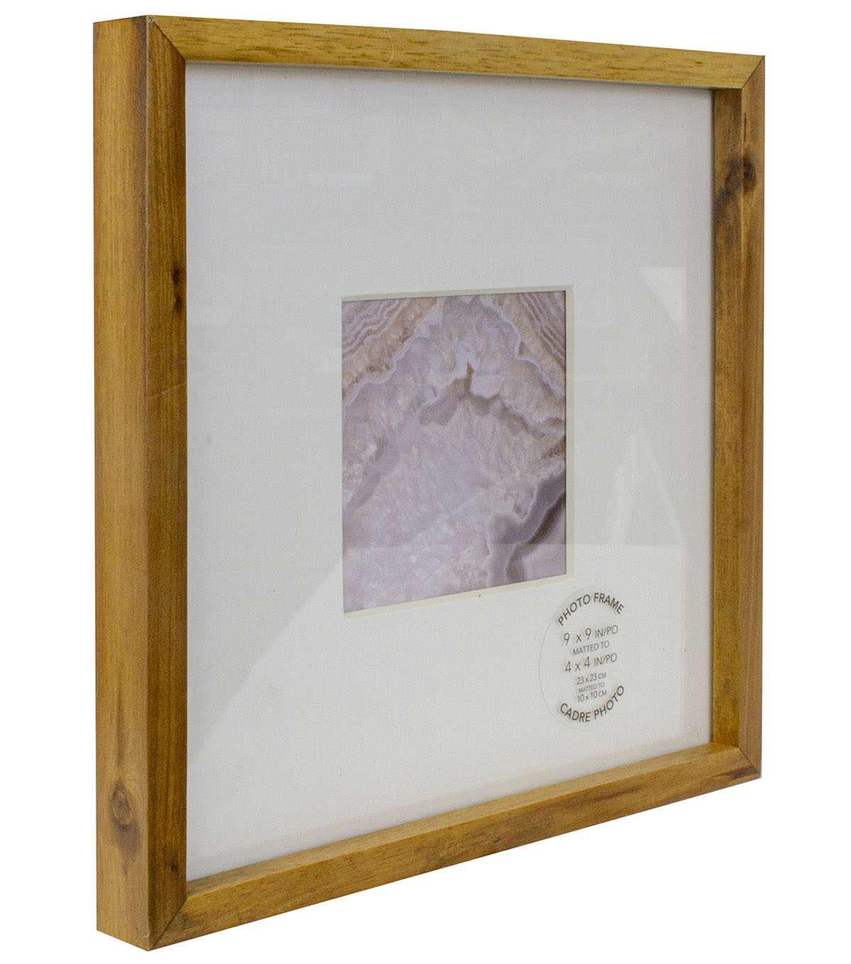 Single Image Gallery Photo Frame 4\u0027\u0027x4\u0027\u0027-Acacia
