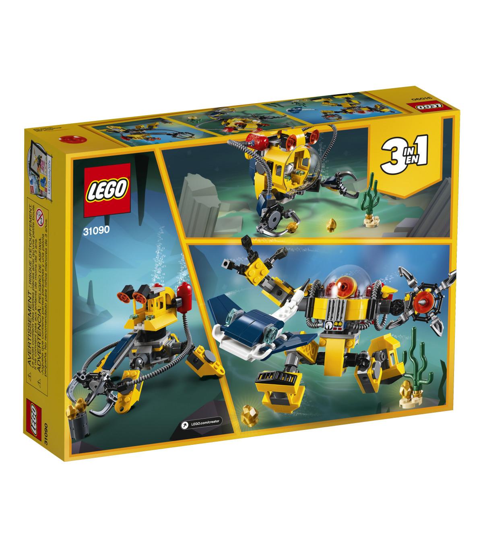 59ac91605a1 LEGO Creator 3-in-1 Underwater Robot Set | JOANN