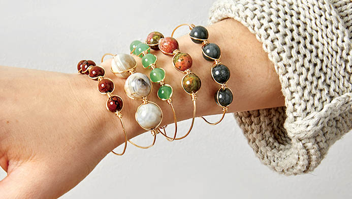 Wire Wrap With Beads