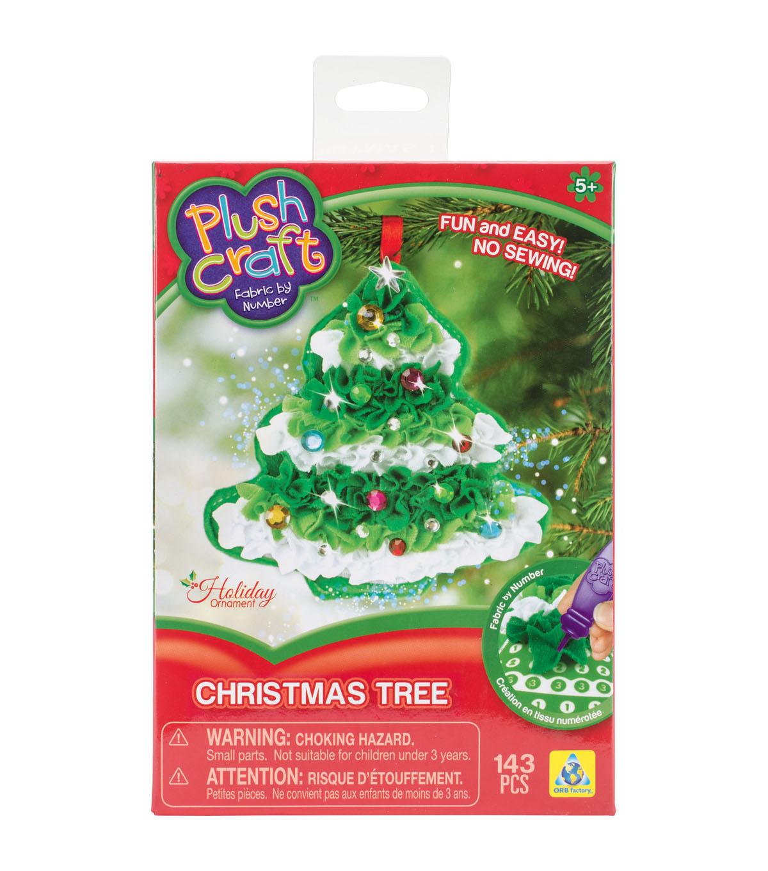 orb plush craft christmas tree ornament kit - Joann Fabrics Christmas Decorations