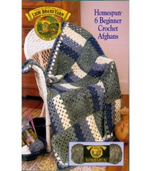 Lion Brand Homespun 6 Beginner Crochet Afghans Joann