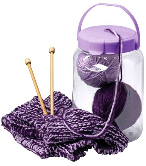 Snapware Yarn Container Small-8\u0022X5-1/2\u0022