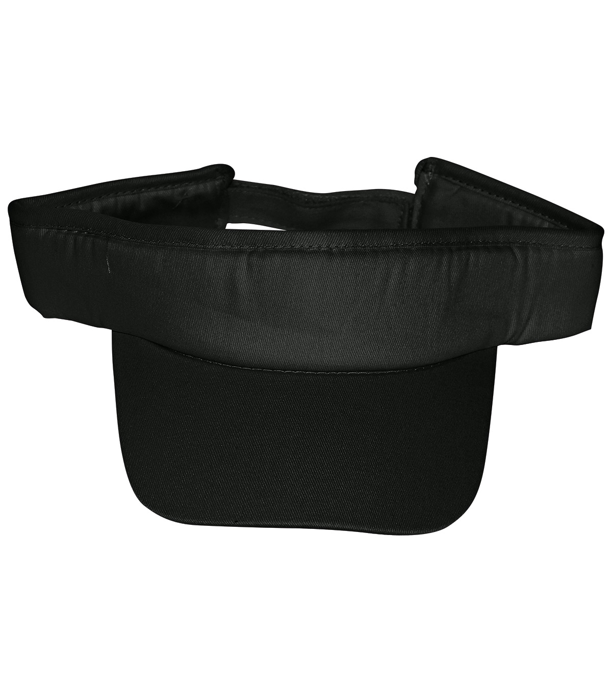 Adjustable Velcro Visor-Black