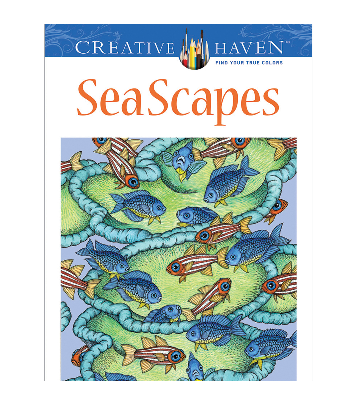 Dover Creative Haven SeaScapes Coloring Book