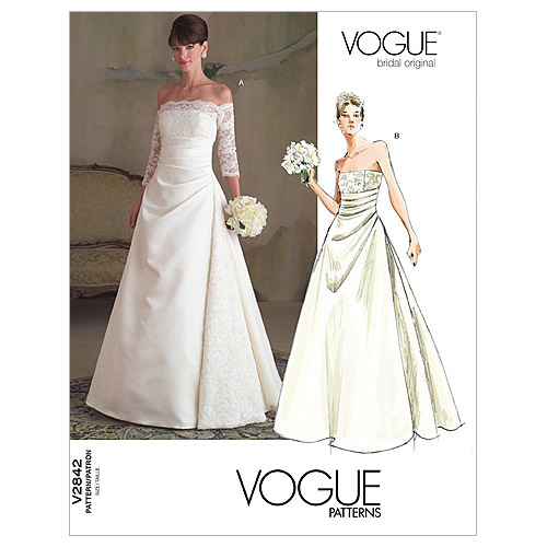 Vogue Patterns Misses Bridal-V2842