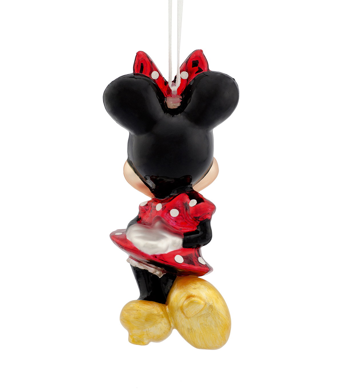 Hallmark Ornament-Blown Glass Figural Minnie Mouse