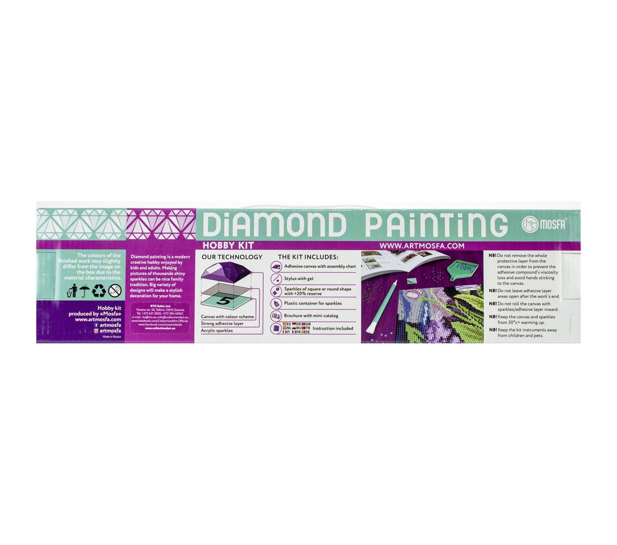 752c345da14ed RTO Diamond Mosaic Embroidery Kit 40X50cm-Wedding Day