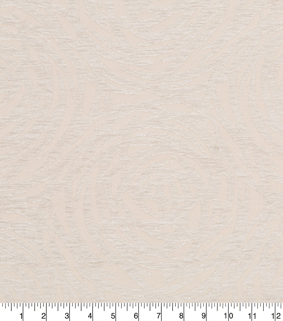 Robert Allen @ Home Upholstery Swatch 54\u0022-Mod Circles Cream