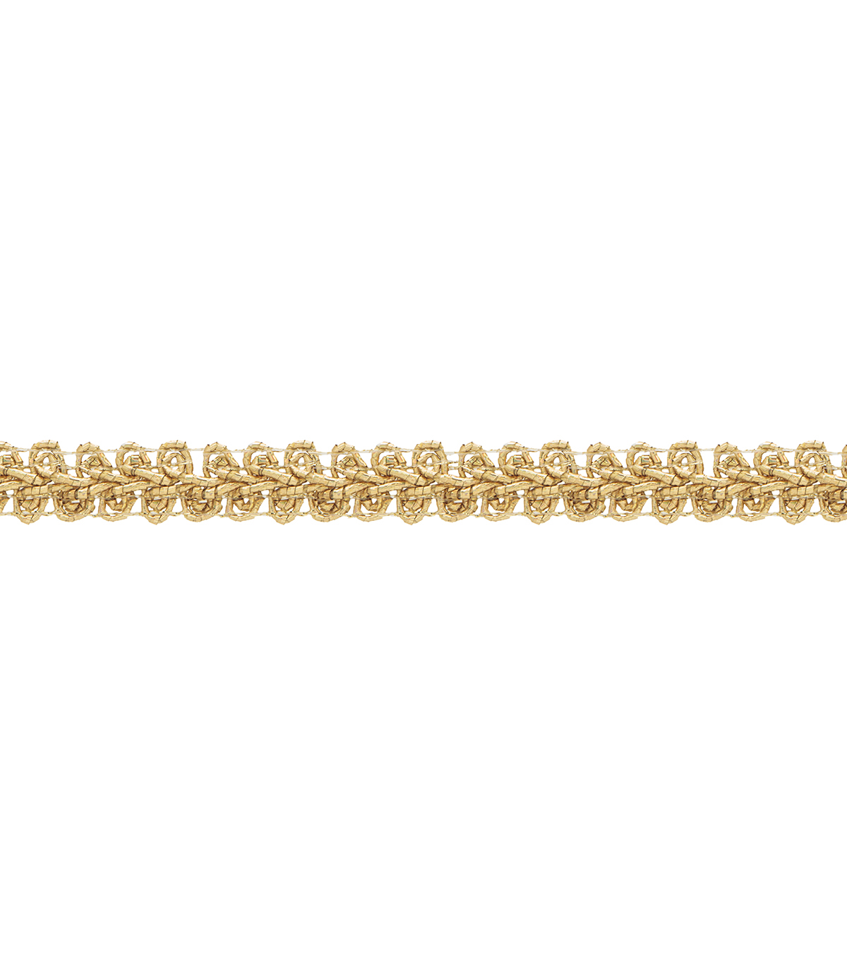 Simplicity Trims-1/2\u0022 Gimp Holographic Gold