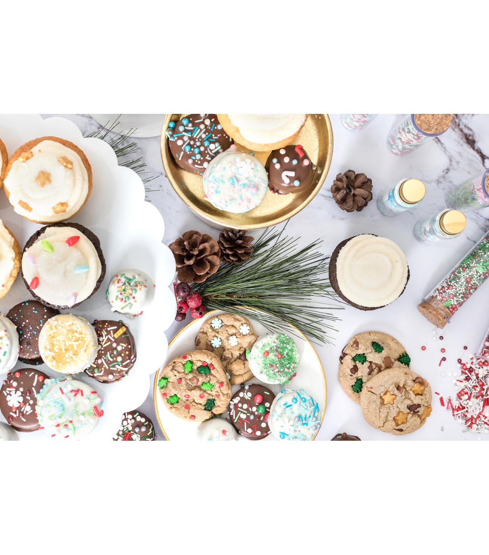 The Sweet Tooth Fairy Christmas 3 Pk Sprinkle Mixes Noel