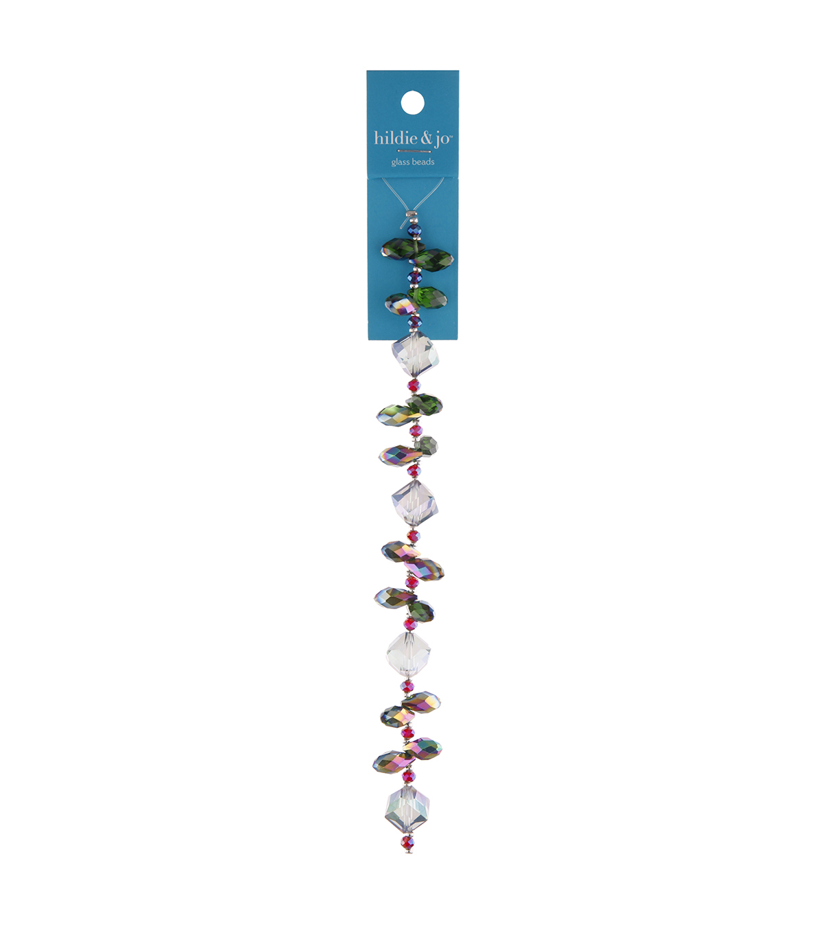 hildie & jo 6.7\u0027\u0027 Drop Glass Strung Beads