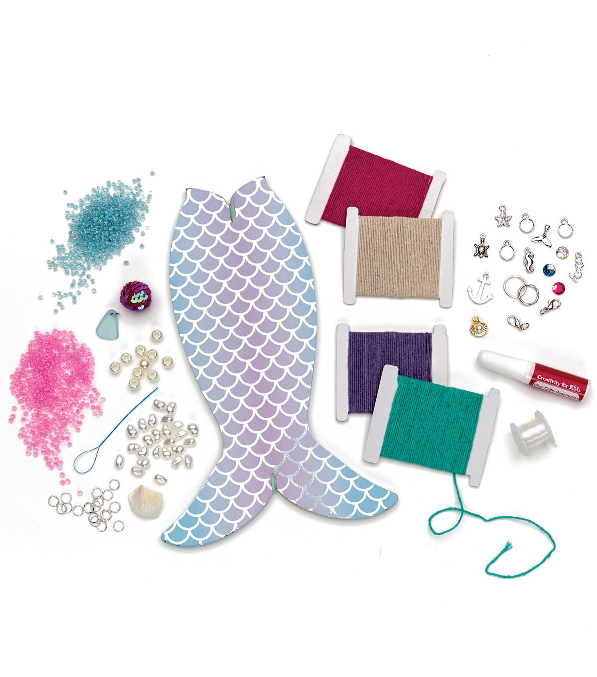 Creativity for Kids Mermaid Tail Jewelry Maker Kit