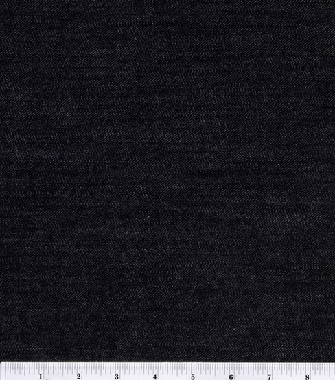 Sew Classics Stretch Denim Fabric 52\u0027\u0027-Black