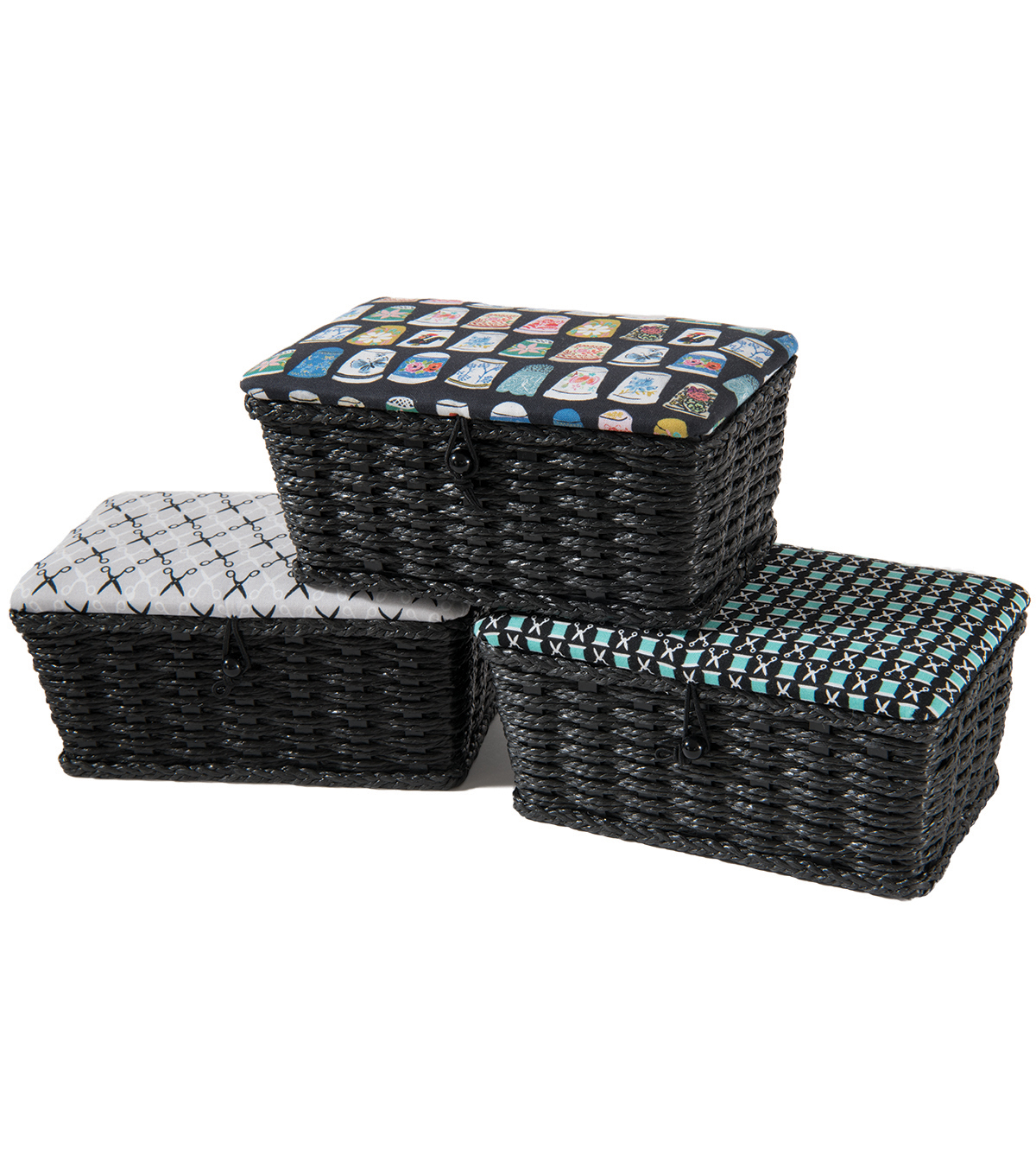 Sewing Basket X-Small Rectangle-Thimbles