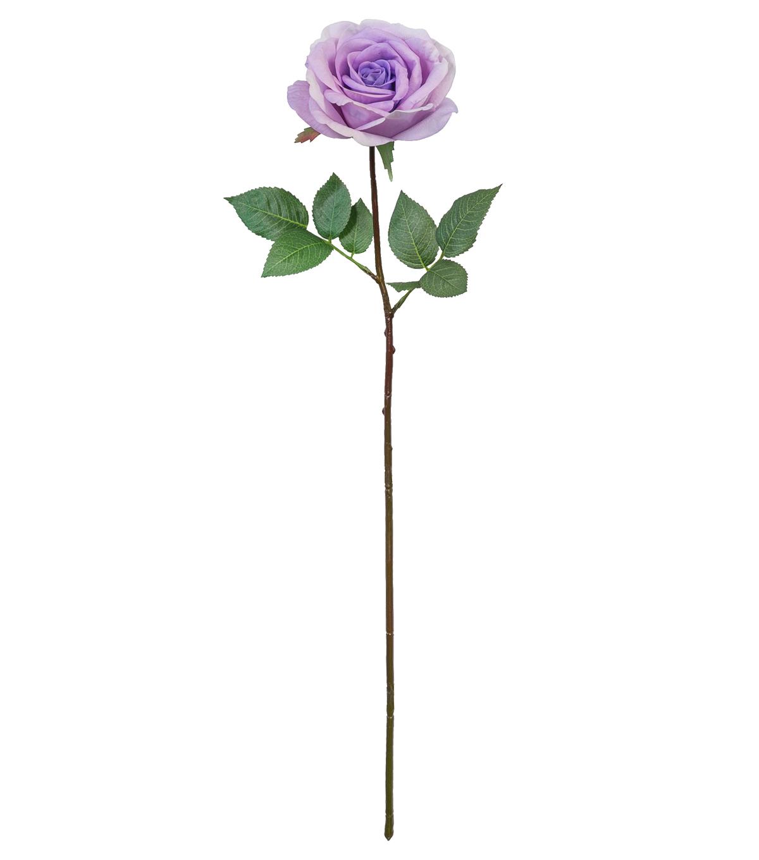 Fresh Picked Spring 27 Rose Stem Purple JOANN