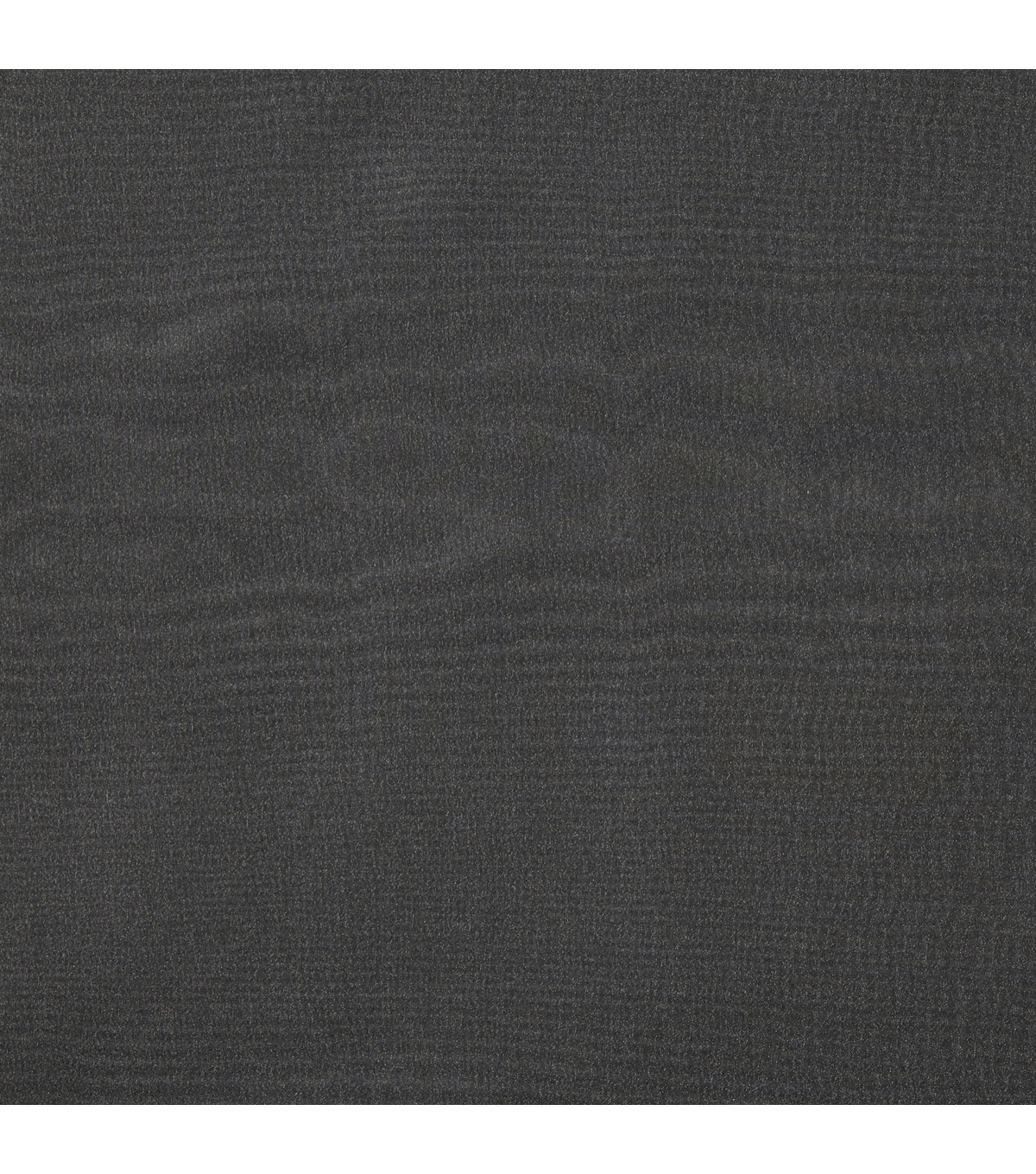 Casa Collection Solid Crepon Sheer Fabric, Black