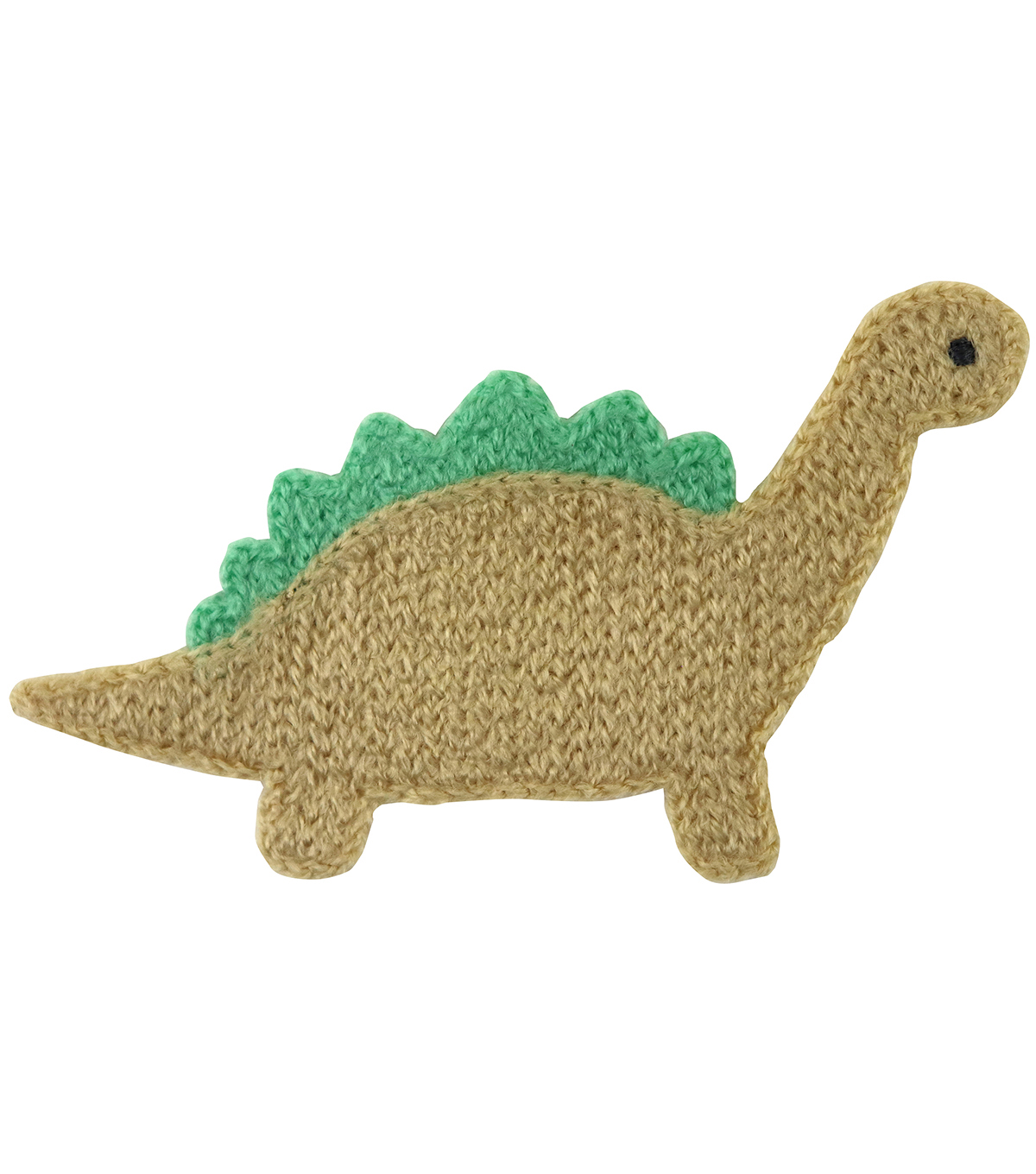 Simplicity Dinosaur Baby Sew-on Applique-Brown