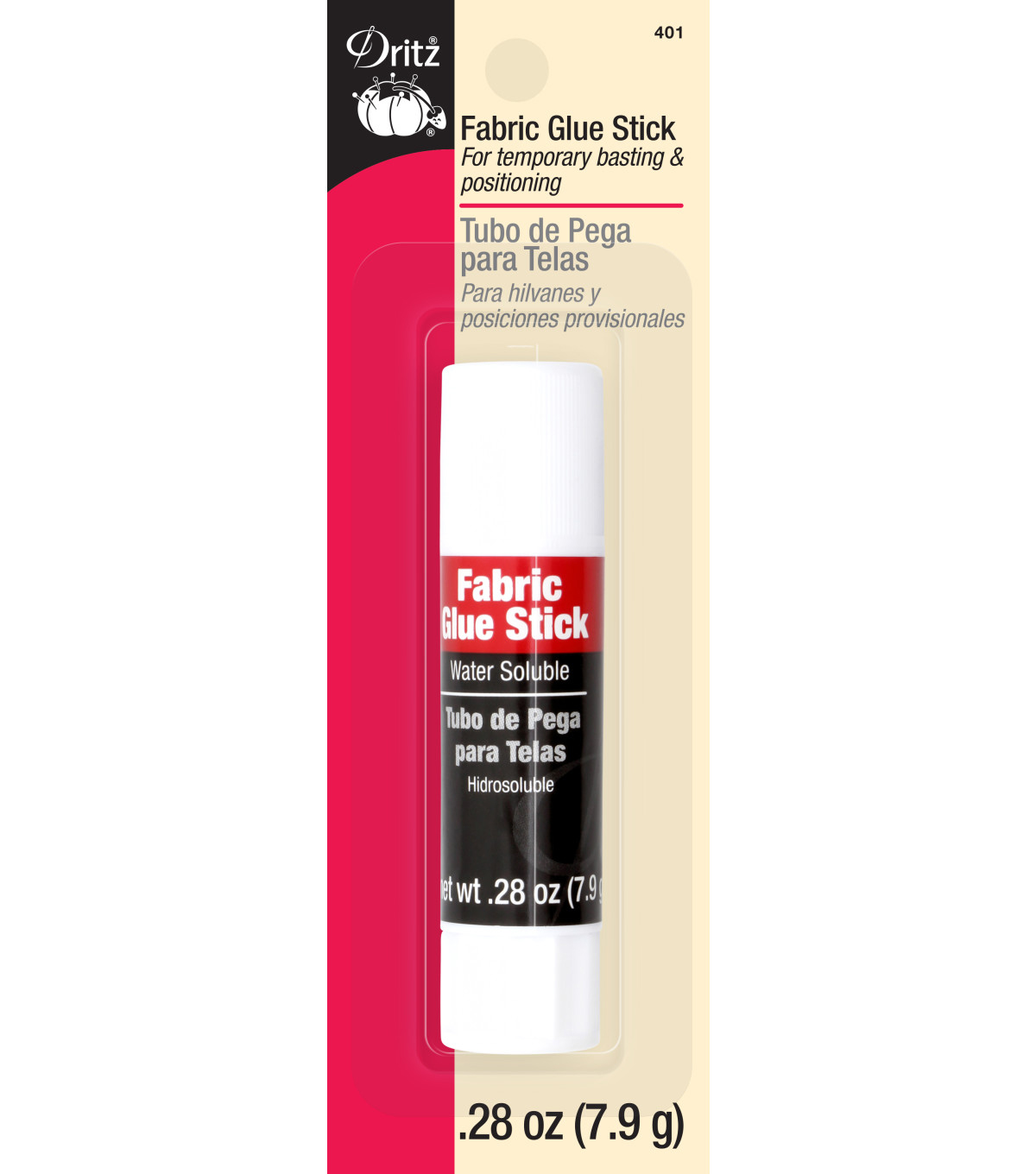 Dritz Sewing & Craft Glue Stick-.26 oz.