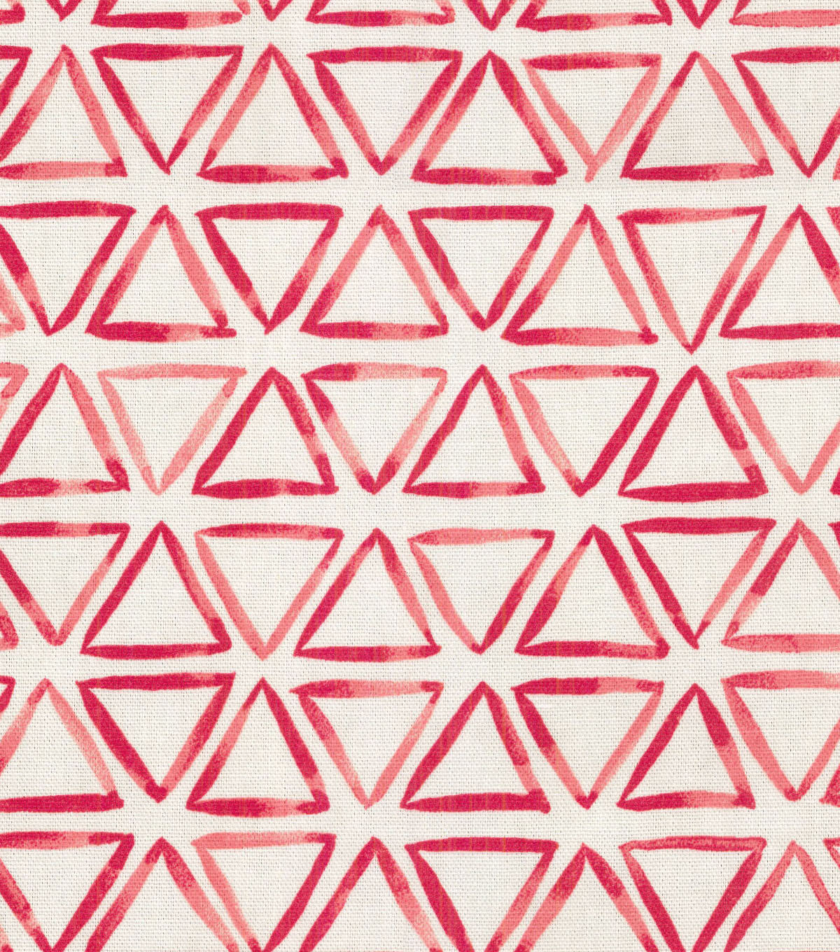 Waverly Upholstery Fabric 54\u0022-Painted Triangles In Bloom