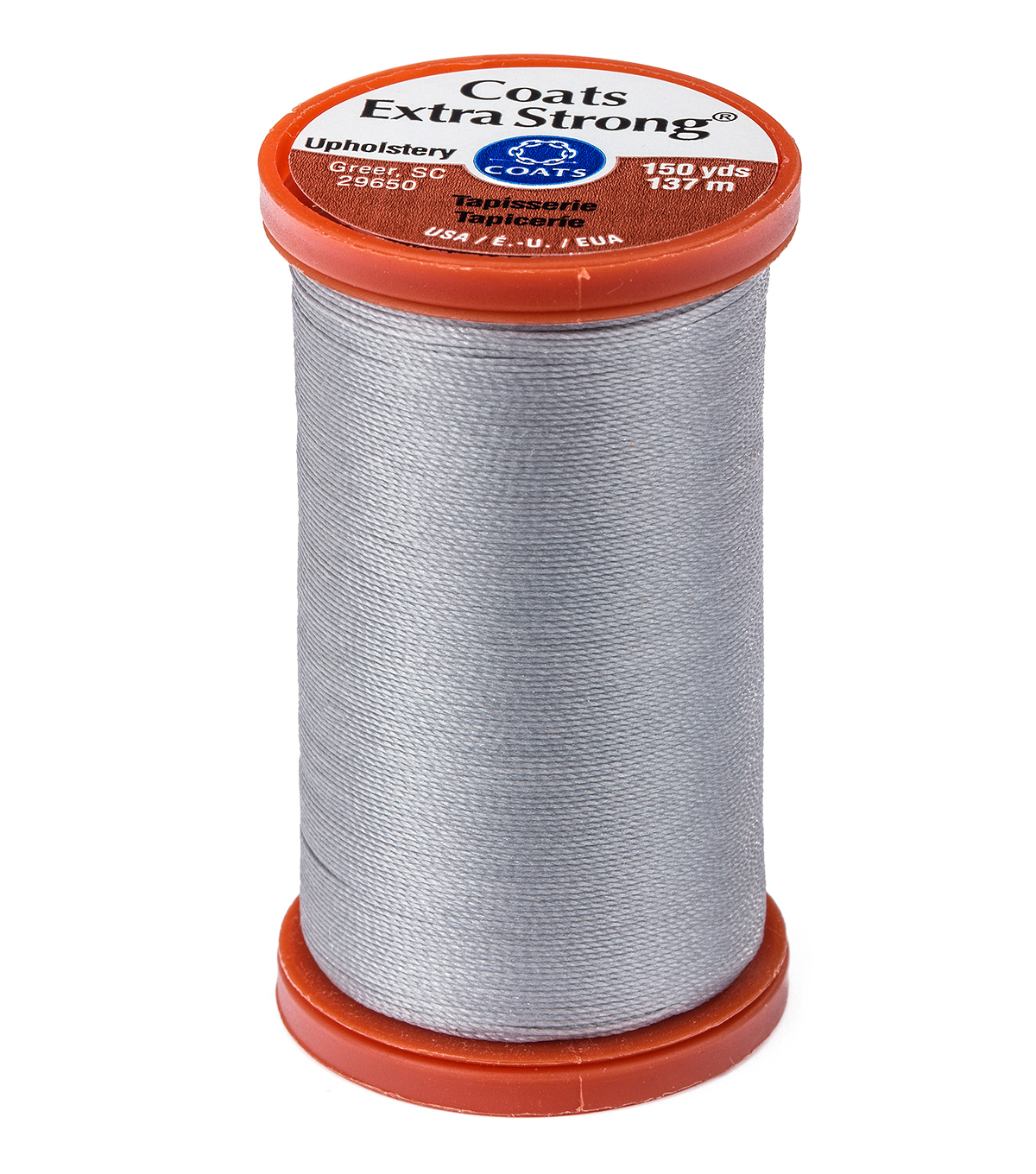 Coats & Clark Extra Strong & Upholstery Thread 150 yd , Nugrey