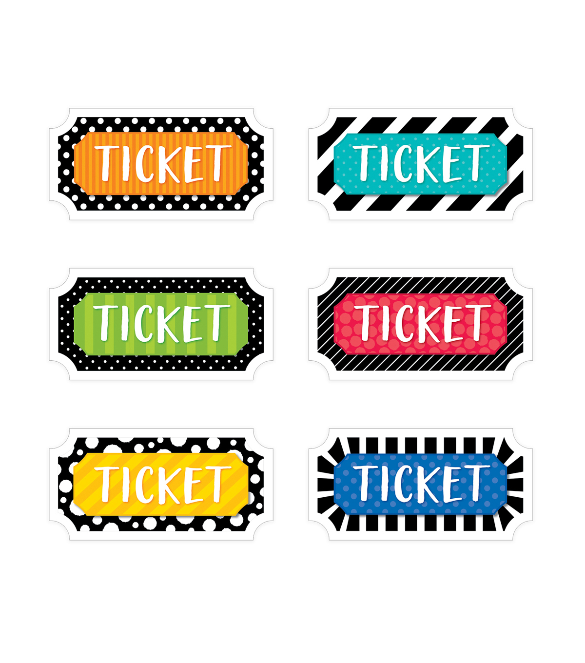 Creative Teaching Press Classroom Management Incentive Ticket, 216/Pack