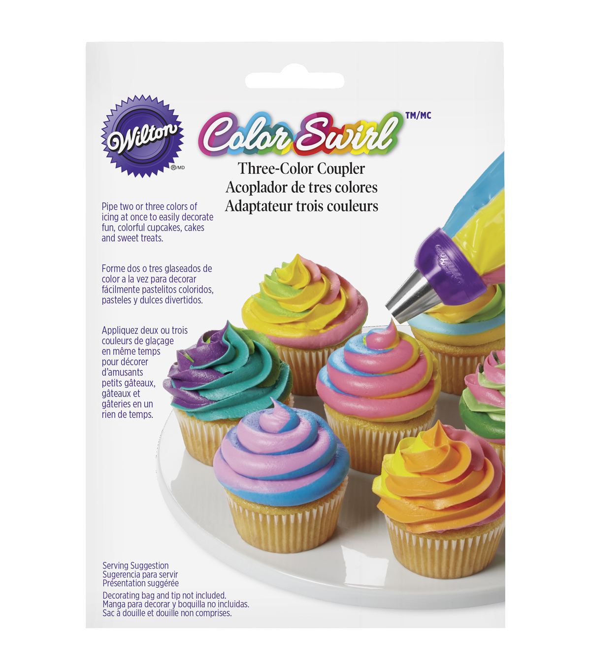 Wilton ColorSwirl 3-Color Coupler