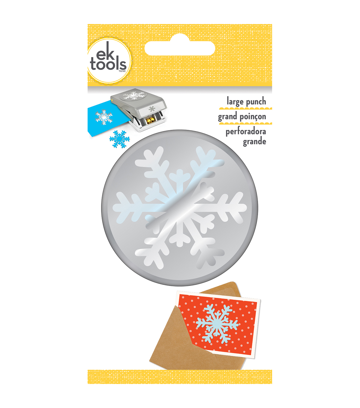 EK Tools Large Punch-Arctic Snowflake