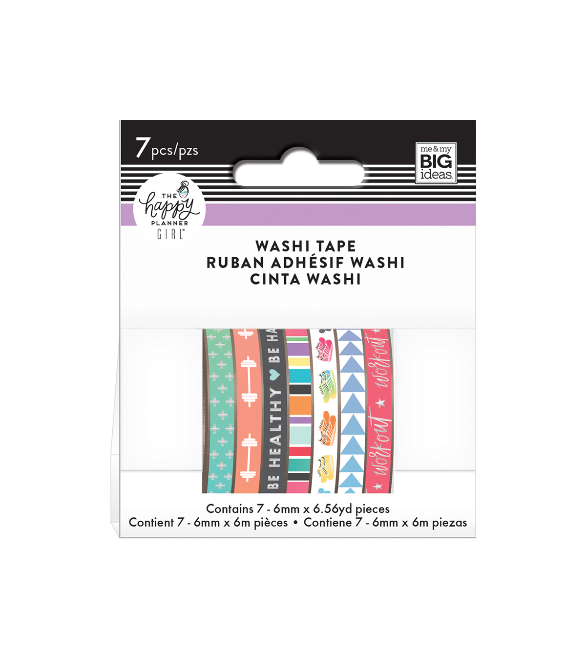 The Happy Planner Girl Washi Tape-Healthy Hero