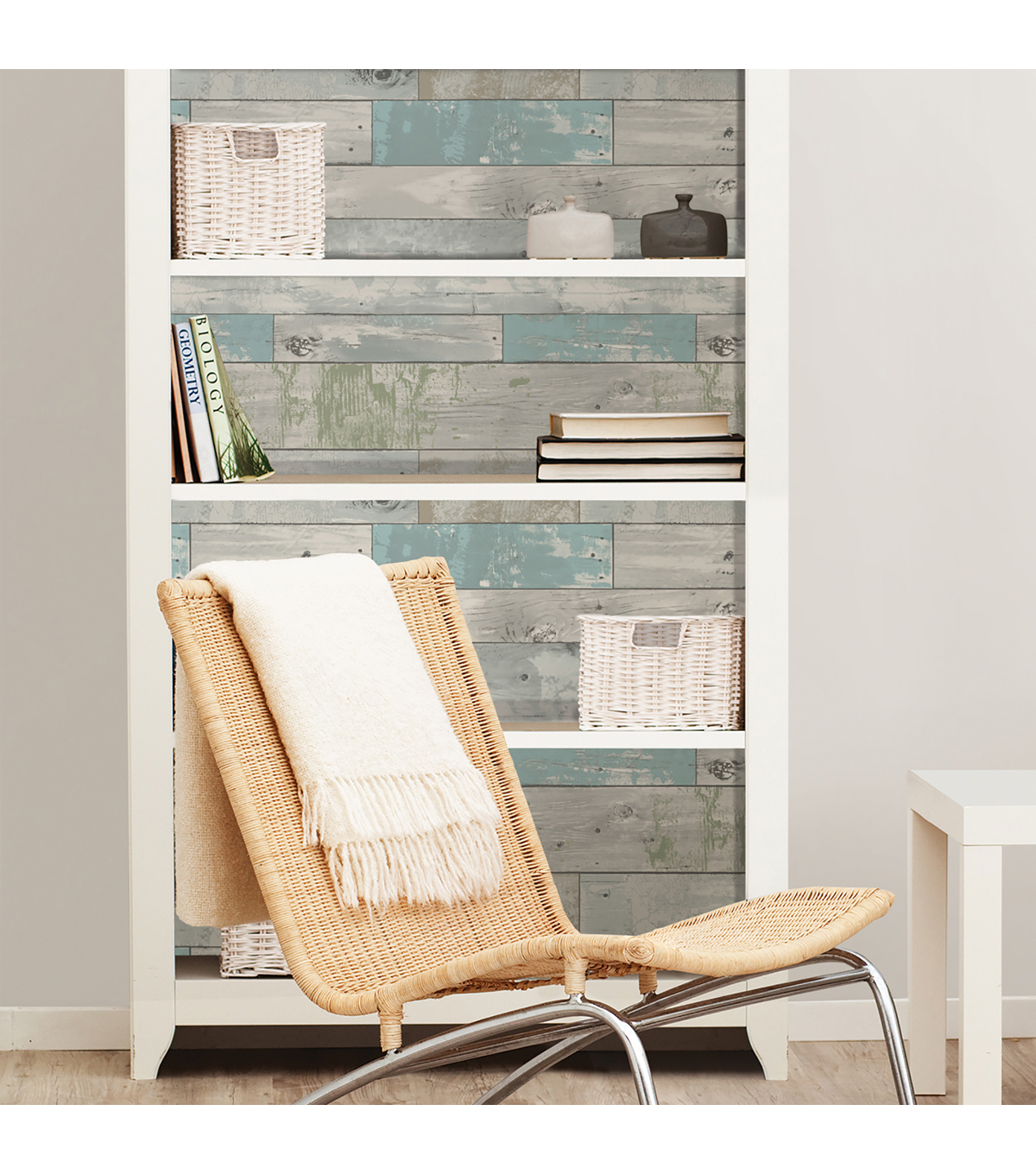 WallPops NuWallpaper Peel & Stick Wallpaper-Beachwood