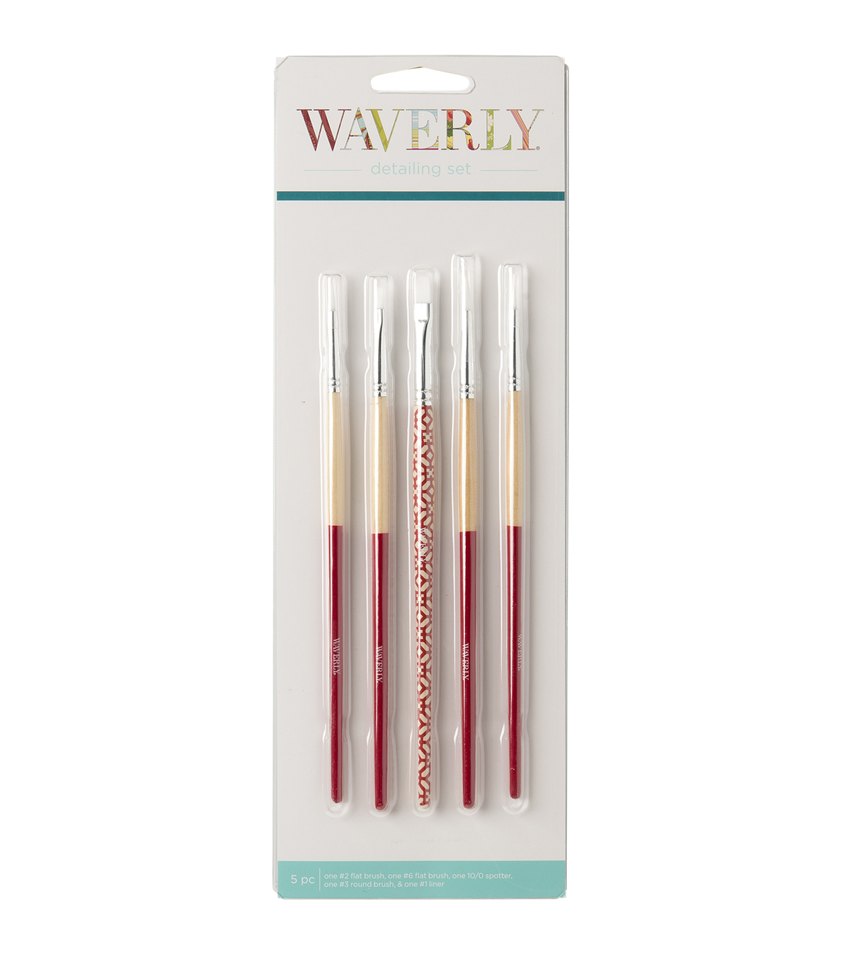 Waverly Detailing Brush Set 5pk