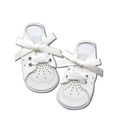 Jolee\u0027s By You Dimensional Embellishment-Babies 1st Shoes