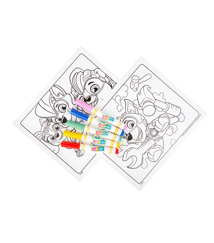 Crayola Paw Patrol Color Wonder Coloring Pad /& Markers Binney ...