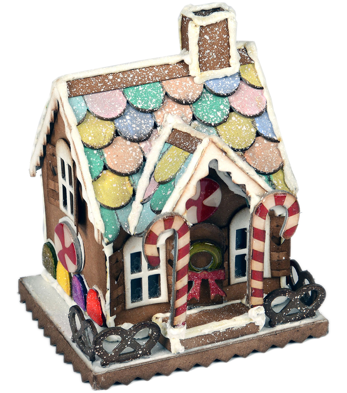Sizzix Bigz Tim Holtz Alterations Die-Village Gingerbread