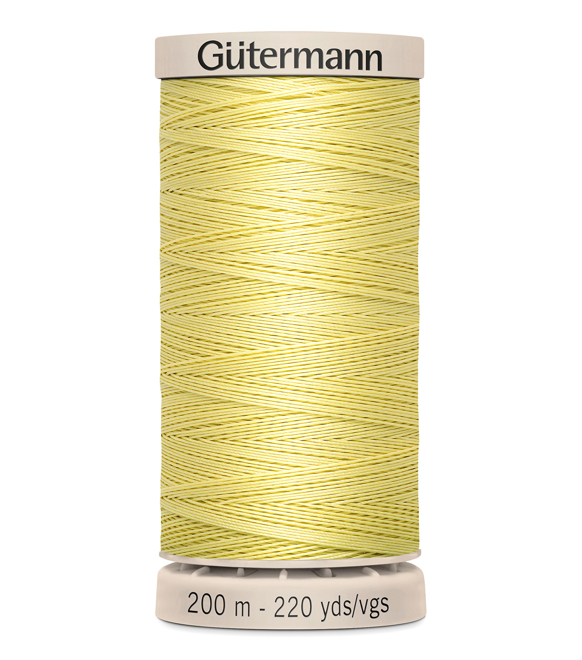 Gutermann Hand Quilting Thread 200 Meters (220 Yrds)-Primary, Canary #349