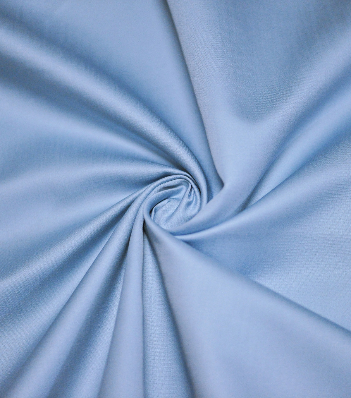 Supima Sateen Cotton Fabric-Solids, Steel Blue