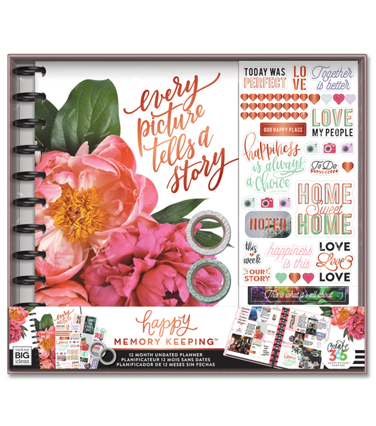 The Happy Planner Happy Memory Keeping  Kit-Every Picture Tells a Story