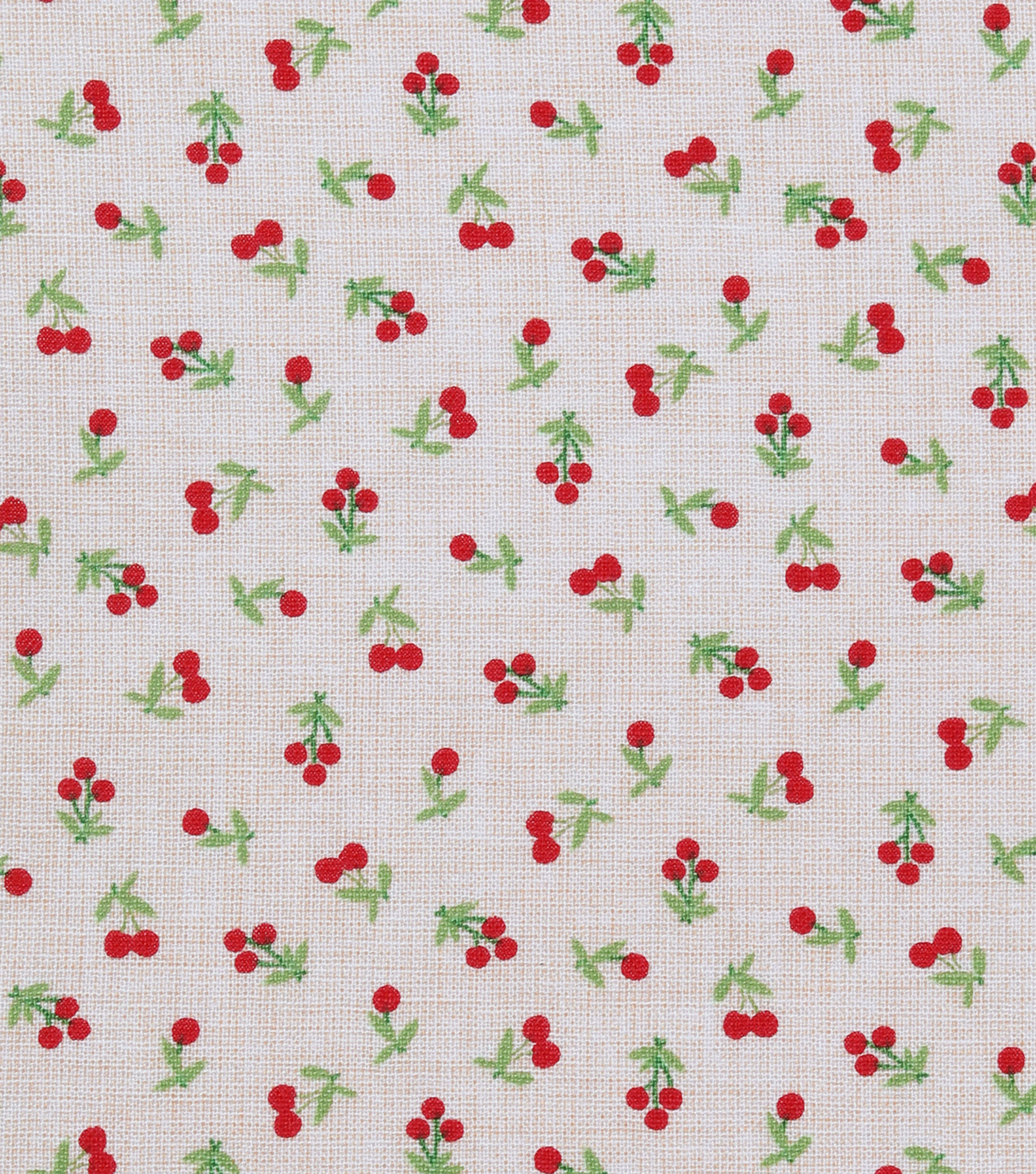 Novelty Cotton Fabric 43\u0027\u0027-Tiny Cherries
