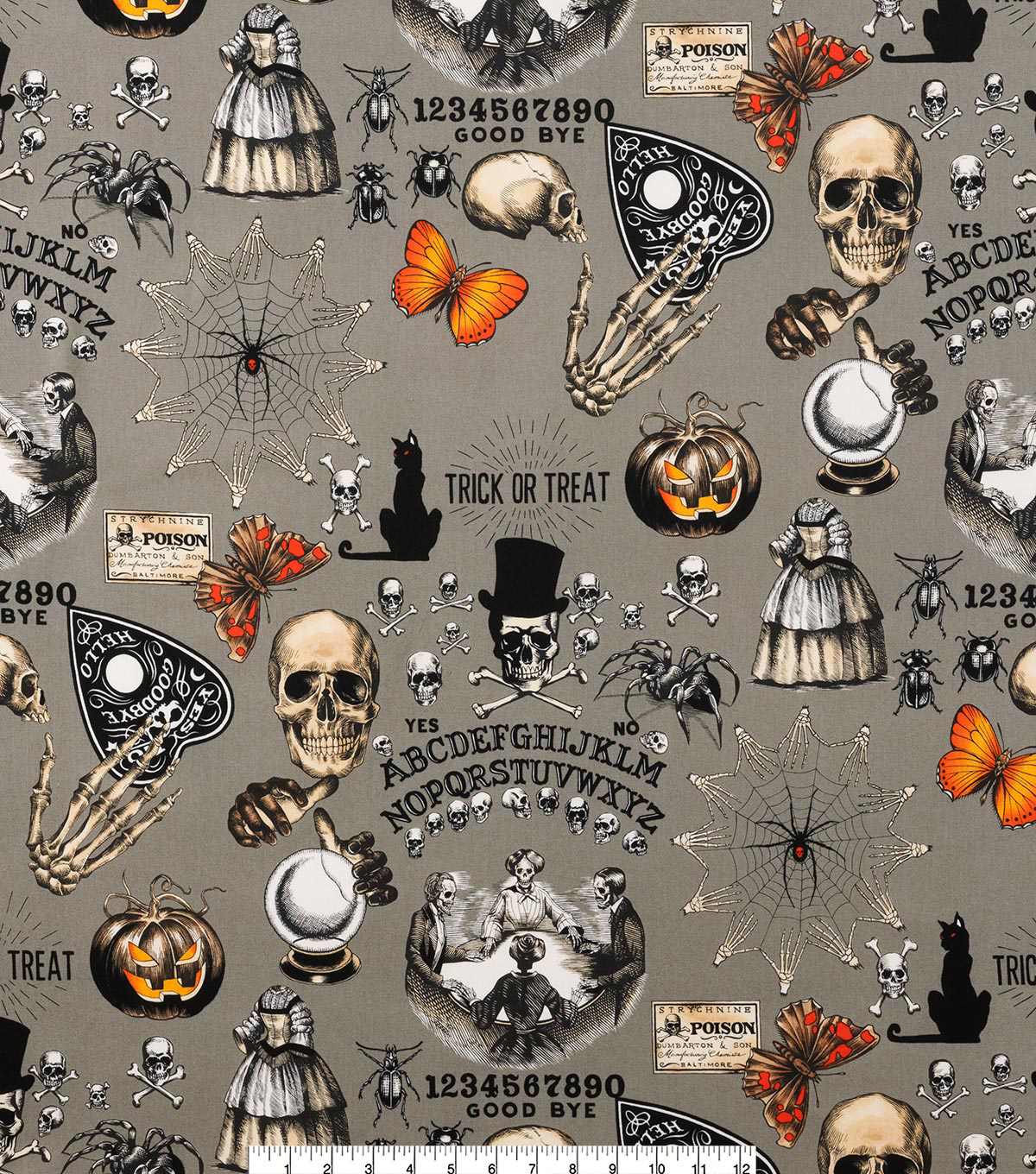 Halloween Cotton Fabric 45\u0022-Seance