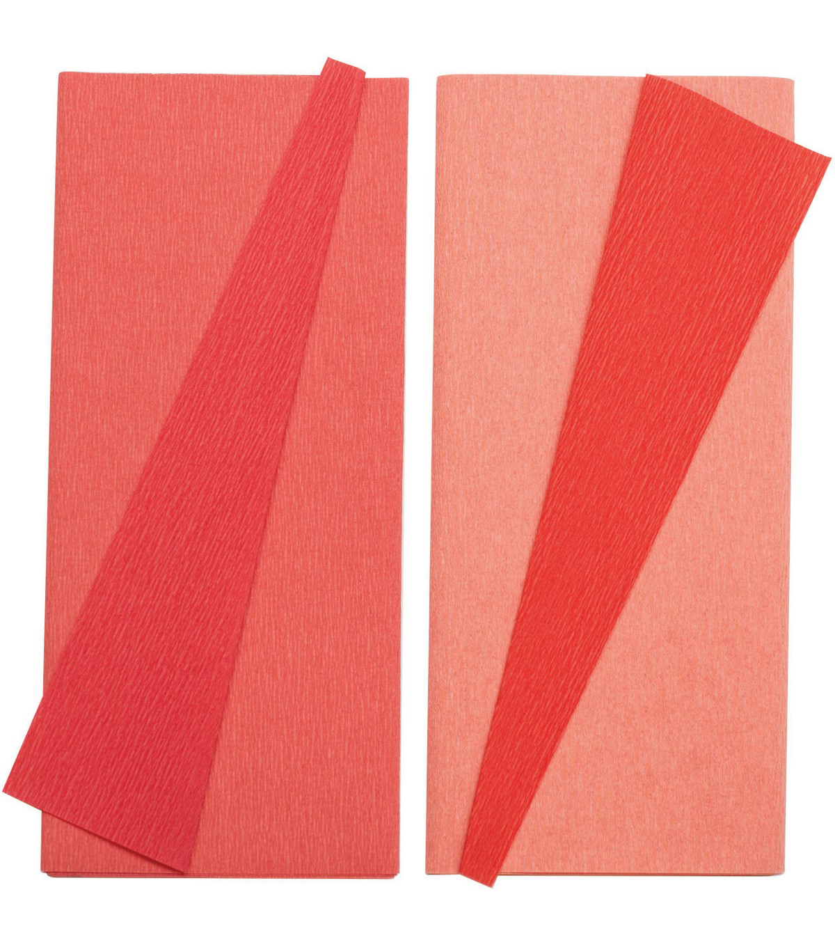 Lia Griffith 2 pk Extra Fine Double-Sided Crepe Papers-Strawberry