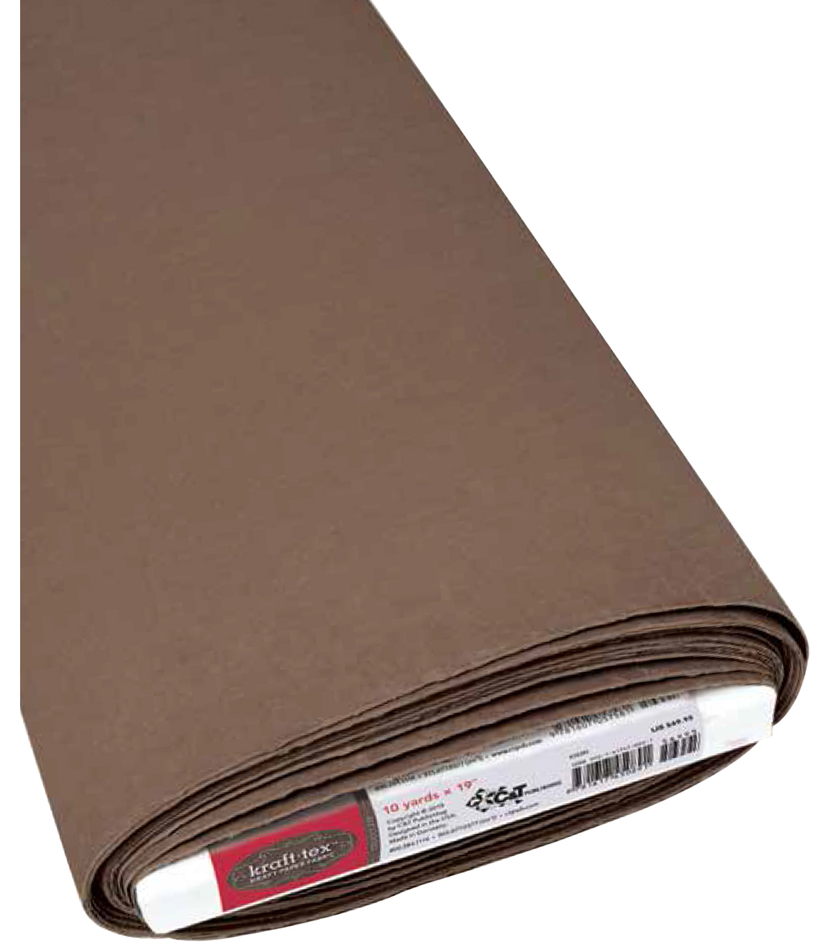 C&T Publishing Kraft-Tex Kraft Paper Fabric 19\u0027\u0027x10 yds, Chocolate