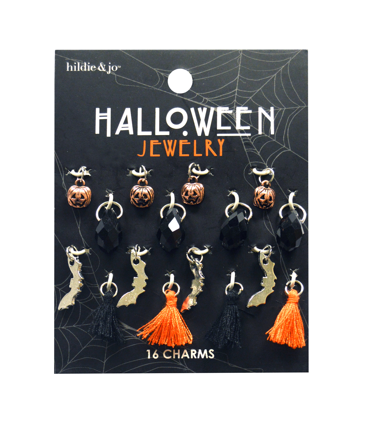 hildie & jo Halloween Charm Mix-Dangle Tassels