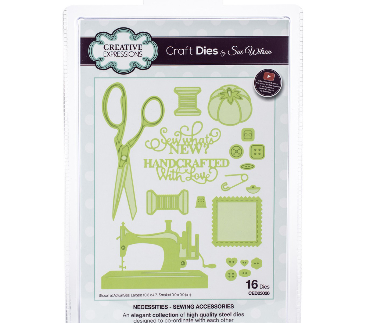 Craft Dies By Sue Wilson-Sewing Accessories