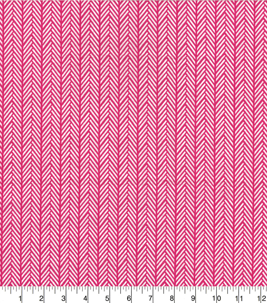 Quilter\u0027s Showcase Cotton Fabric -Linear Arrows on Pink