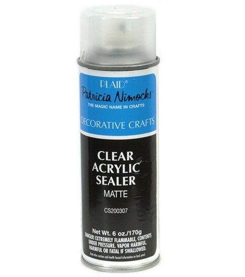 Plaid 6 oz. Matte Acrylic Sealer-Clear