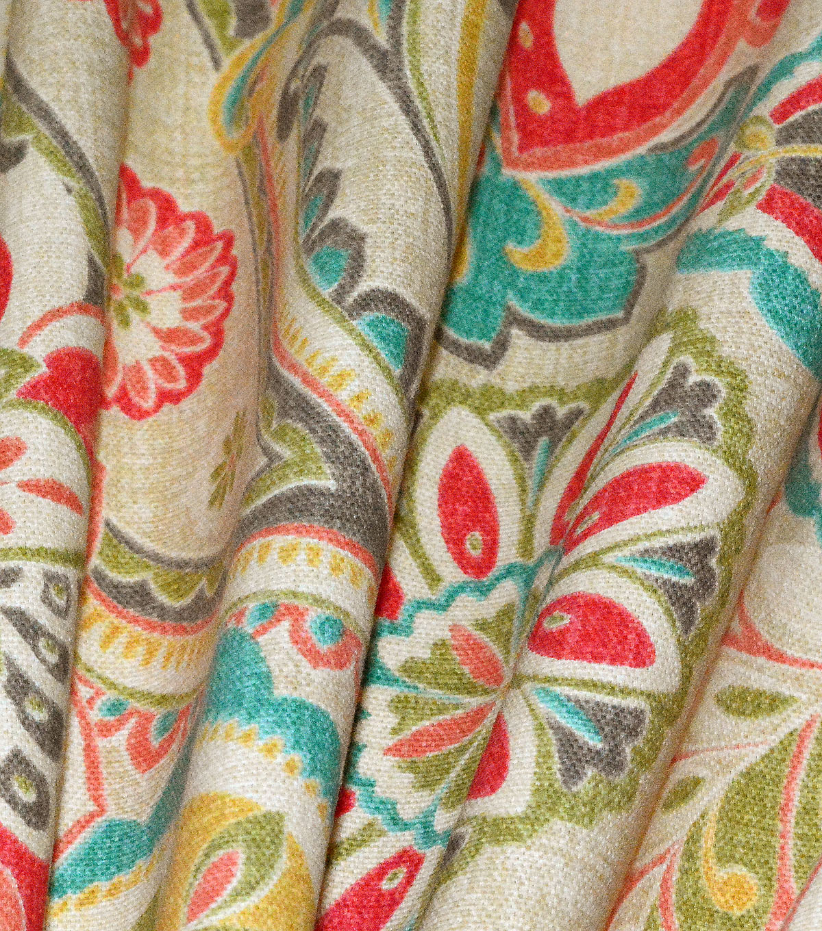 Waverly Upholstery Fabric 54\u0022-Wild Card Bloom