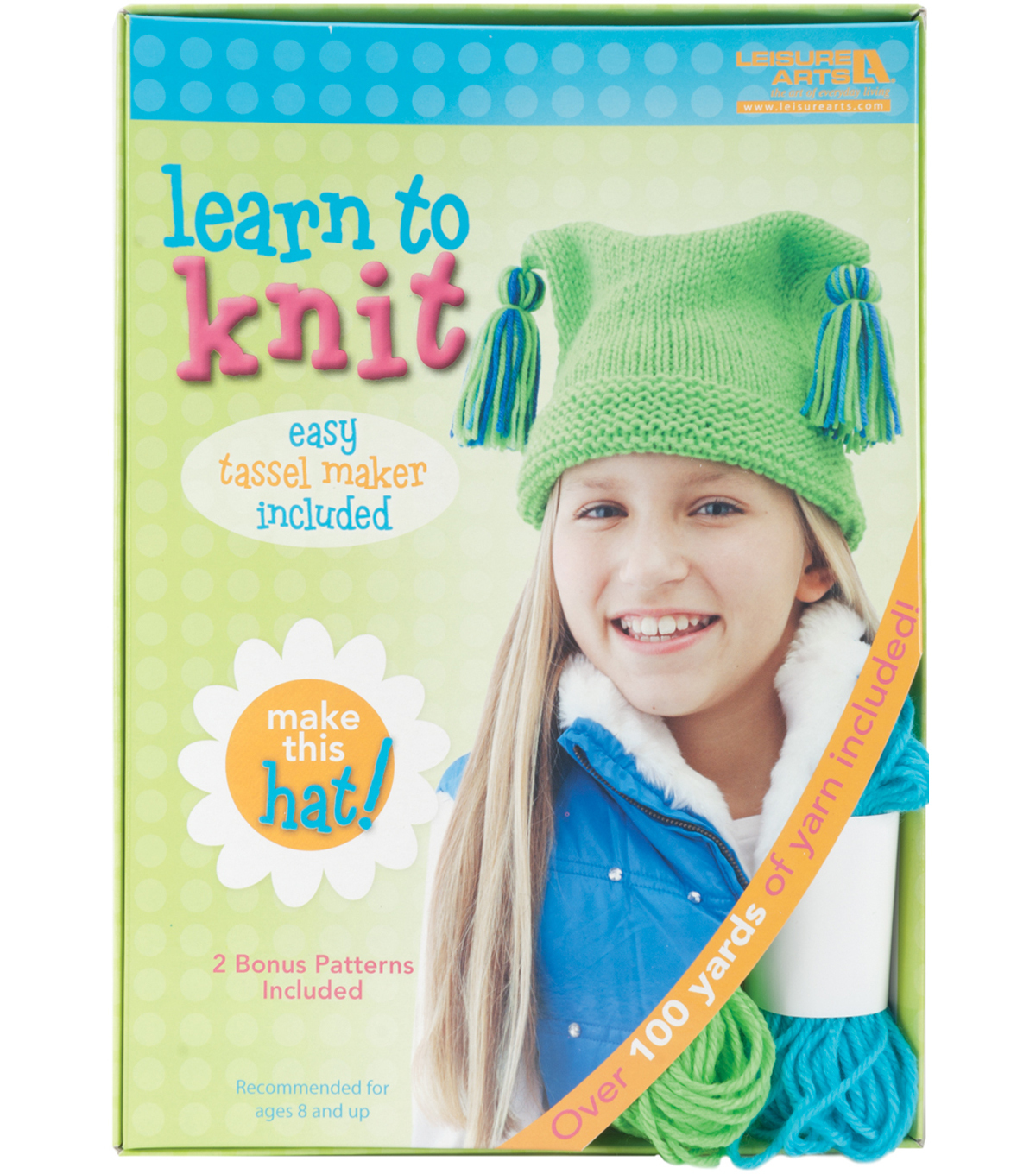 Learn To Knit-Hat