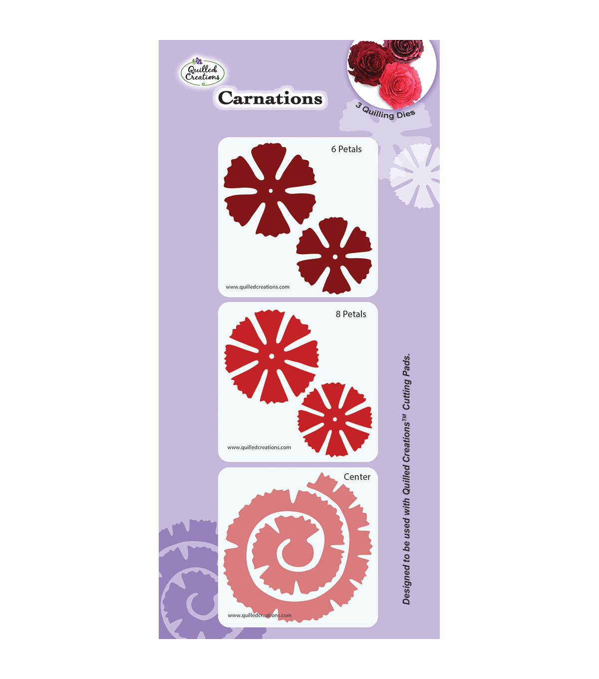 Quilled Creations Carnations Quilling Dies