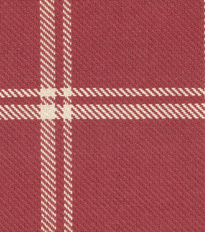 Waverly Upholstery Fabric 54 U0027 Cinnabar Bloomsbury Plaid
