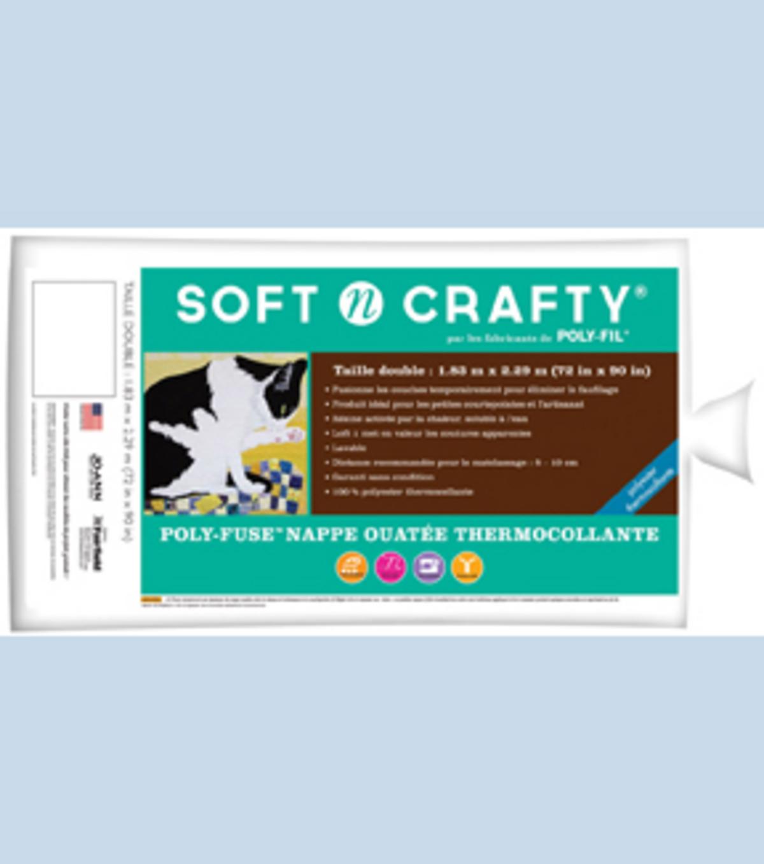 Soft N Crafty Polyfuse Fusible Batting 72 X 90 Joann Fuse Box Bat Ideas Fairfield Poly 72u0022x90u0022